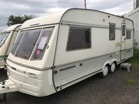 1996 swift conquer 550 end bedroom Choice of 2 BANK HOLIDAY MONDAY SALE