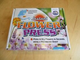 Instant Flower Press Kit - Brand New