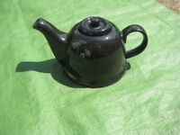 Black Teapot and Cosy