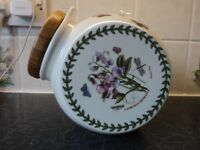 PORTMEIRION BISCUIT BARREL, NEVER BEEN USED, AS NEW