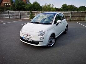 Fiat 500 Lounge 2012 **Mint Condition **