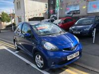 2007 57 plate Toyota aygo 1.0 blue edition, long mot just £20 tax