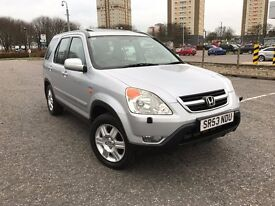 NEW SHAPE 4X4 HONDA CR-V^FULL LEATHER INTERIOR^TOP RANGE EXAMPLE^FULL SERVICE HISTORY^CLEAN EXAMPLE