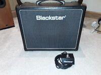 Blackstar ht5r valve guitar amplifier.