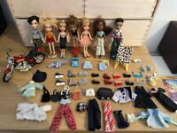 BRATZ mini bundle with figures accessories and more