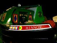 Narrowboat 24ft piper