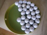 BRANDED AND POPULAR RANGE OF GOLF BALLS FOR SALE - TITLEIST; SRIXON; TAYLOR MADE; CALLAWAY + OTHERS.