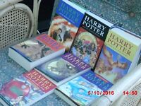 BARGAIN! HARRY POTTER BOOKS, FULL COLLECTION INCLUDING 2 FIRST EDITIONS. ONLY £5.99 EACH! FY1 AREA.