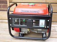(Silverline) 1.0 kVA Petrol Generator with 1 x 230v and 1 x 12v outlets