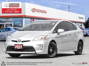 2014 Toyota Prius One Owner, No Accidents, Toyota Serviced