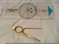 Divider and plotter Navigational Instrument