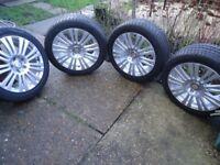 17 x 4 GENUINE Mercedes Alloy Wheels and WINTER Tyre's May fit : VITO/VIANO / E-C- CLK CLASS