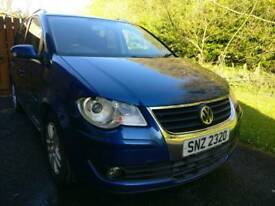 VW Touran 2.0tdi SE