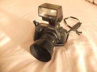 Canon EOS600 Camera - Canon 28-70mm lens - Canon Flash 300EZ Flash - Film Camera VINTAGE