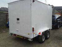 Customised, twin axle trailer