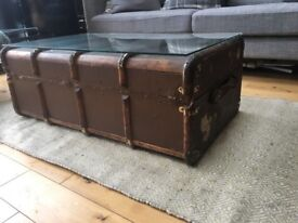 VINTAGE LUGGAGE TRUNK - COFFEE TABLE