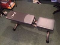 York Fitness Bench in excellent condition, very low usage
