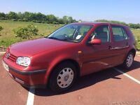 VW Golf 1.4i low insurance Very Low Miles for year