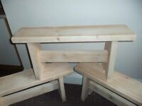 handmade benches £40 each