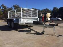 Hot Dipped Galvnaized 8x5 Tandem Cage Trailer Fully Weld Electric Coopers Plains Brisbane South West Preview