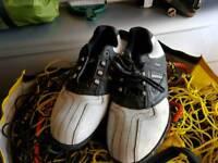 Starburst golf shoes