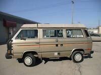 1986 VW Westfalia Syncro Camper - Excellent cond - PRICE REDUCED