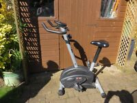 Exercise Bike with Exercise Computer and Instruction Booklet
