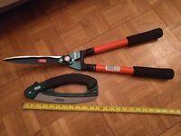 Gardening tools - Folding pruning saw & telescopic shears cutters