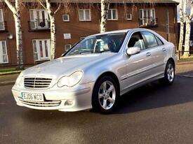 2006 Mercedes C-Class C200 CDI Avantgarde SE Auto, Full Service History