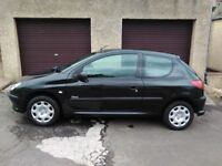2006 Peugeot 206 1.4 Urban 1 years mot and genuine 49,000mls from new