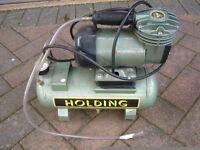 Holding mini compressor