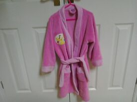 Girls Dressing Gown