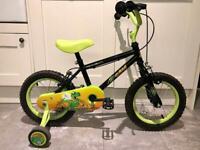 "Apollo Claws bike - 14"" wheels"