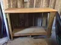 Wooden Work Bench