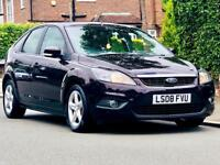FORD FOCUS 1.6 ZETEC 2008 FACELIFT LOW MILEAGE 1YRS MOT CLEAN&TIDY 3 MONTHS WARRANTY CALL NOW