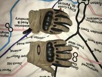 Oakley gloves.