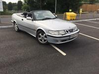Saab 9-3 2.0 i turbo SE 2000 V REG 2drROOF WORKS +FULL BLACK LEATHER