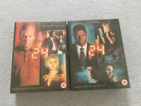 24 dvd season one and two - unopened