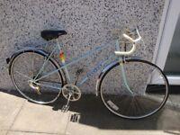 ladies peugeot riviera .road bike. vintage retro . 80 s super condition. 54 cm frame.