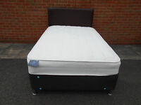 Dreams 4ft small double divan bed with mattress and headboard
