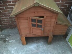 Chicken coop and run £50 cash on pick up good condition