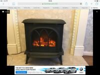 Electric cast iron fire / stove