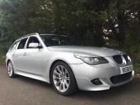 2008 BMW 520D M SPORT TOURING AUTO ESTATE FULL SERVICE HISTORY PARKING SENSORS LOVELY FAMILY CAR