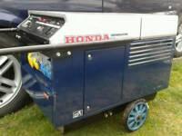 HONDA EX PETROL SILENT RUNNING GENERATOR 5.5 KVA ELECTRIC START