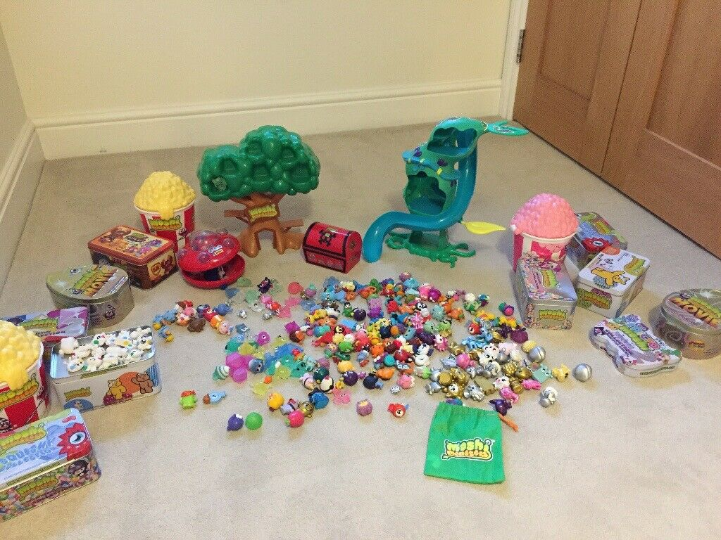 Huge bundle of MOSHI MONSTERS figures and tree house and heater skelter |  in Bromley, London | Gumtree