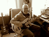 Bass guitar, guitar and ukulele lessons available