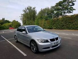 STUNNING BMW 3 SERIES FULL SERVICE HISTORY FULL BLACK LEATHER HIGH SPEC IMMACULATE