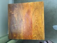 Tokyo brown teak Mango side table- 1