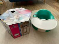 SOLD Baby bumbo seat with tray table