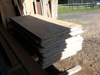 Plywood for sale 8ft x 4ft and half inch thick just £10 per sheet